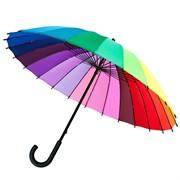 """Зонт-трость спектр """"Радуга"""""""