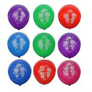 """Шар латексный 12"""" """"Дети познают мир"""", пастель, 2-сторонний, набор 100 шт., цвета МИКС"""